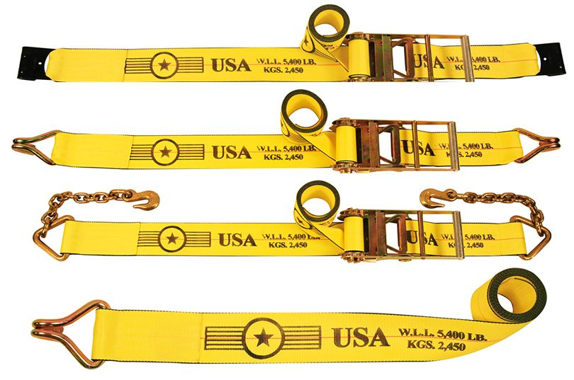 4 Inch Ratchet Straps