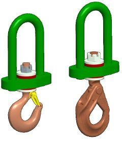 Insulated Swivel Hooks
