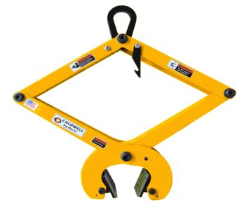 Concrete Pressure Tongs with Urethane Pads