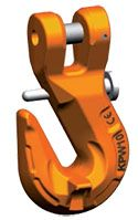 Clevis Grab Hook w/ Safety Catch