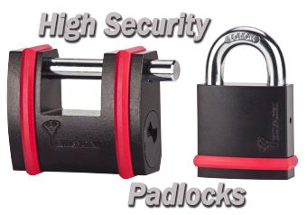 High Security Padlocks