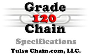 Grade 120 Chain Specifications