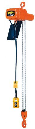 ALPHA H Series Electric Chain Hoist (Single Speed) Hook to Hook