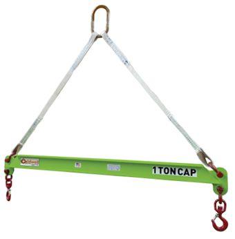 Composite Spreader Beam Caldwell 430-1//2-10 1//2 Ton Capacity 10 Hook Spread