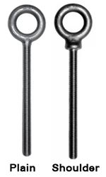 Long Shank Eye Bolts