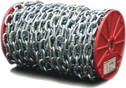 #14 Single Jack chain Zinc Plated Steel 100 ft Made in USA