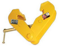 OZ lifting products chain hoist with overload protection, beam clamp made in the USA