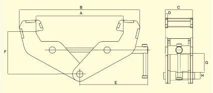 oz lifting products beam clamp specifications