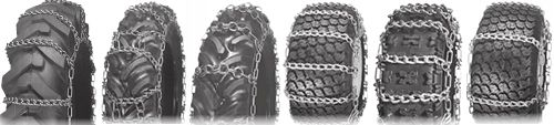 tractor equipment and offroad tire chains