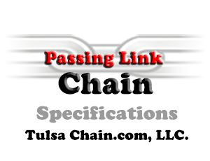passing link chain from Tulsa Chain