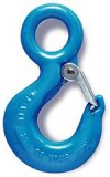 Alloy Eye Hoist Hook w/ Latch